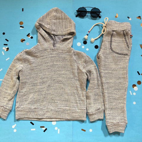 Sol Angeles - Neps Waffle Thermal Hoodie and Sweatpants