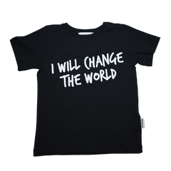 Someday Soon - I Will Change The World Tshirt