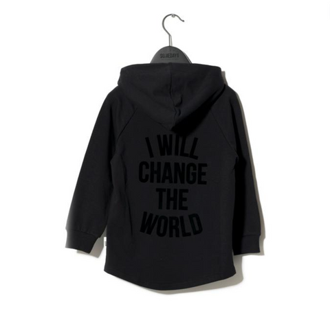 Someday Soon - Matte Velvet I Will Change the World Hoodie