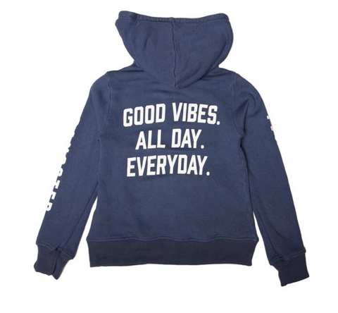 Spiritual Gangster Kids Good Vibes Zip Up Hoodie
