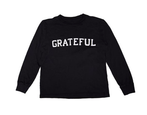Spiritual Gangster Grateful Long Sleeve Tshirt