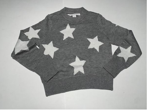 Spiritual Gangster Kids Stars Knitted Sweatshirt