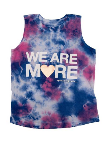 Spiritual Gangster We Are More Tie Dye Tank Top