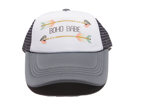 Tiny Trucker Co. -  Boho Babe Hat