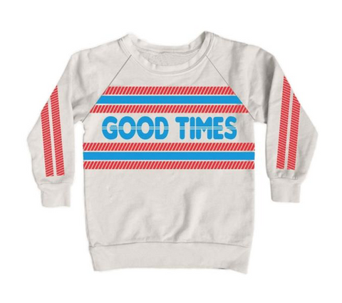 Tiny Whales Good Times Sweatshirt