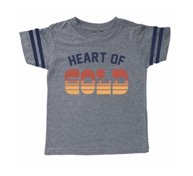 Tiny Whales Heart Of Gold Tshirt