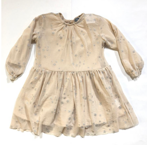 Tocoto Vintage - Metallic Star Dress