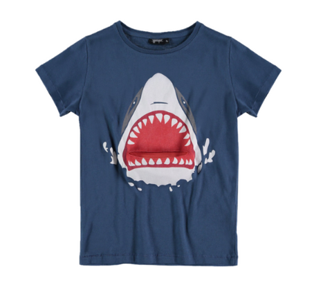 Y Porque -  Shark T-shirt (Tongue Goes In and Out)