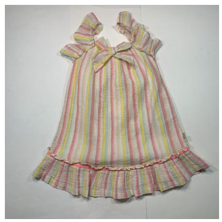 3b1fdad061 Billieblush - Pastel Stripe Bow Dress