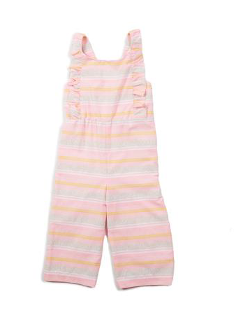 Egg by Susan Lazar - Ruffle Stripe Jumpsuit (Preorder)
