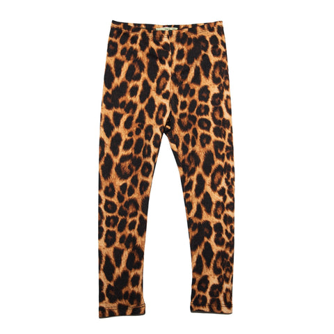 Little Mass Leopard Leggings