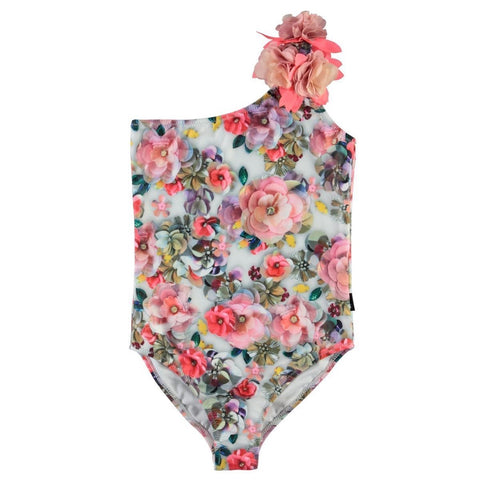 Molo Sequin Flowers Nai One Piece Swimsuit