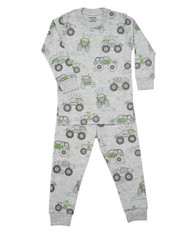 Noomie Cars Two Piece PJs