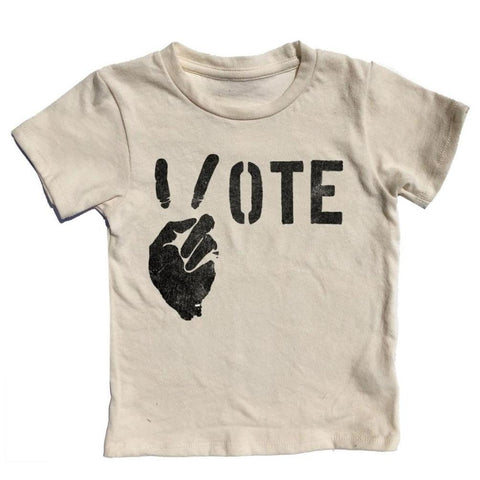 Rowdy Sprout Peace & Vote Tshirt