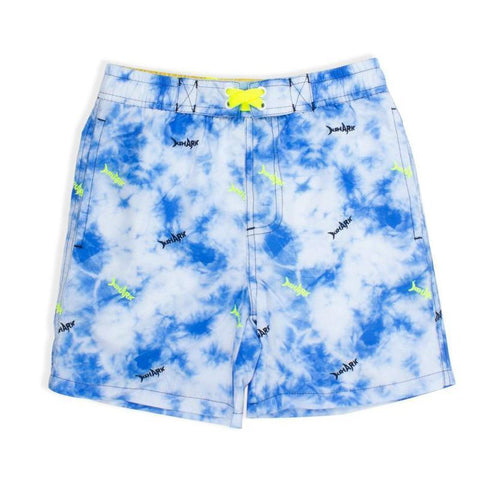 Shade Critters Tie Dye Sharks Swim Trunks