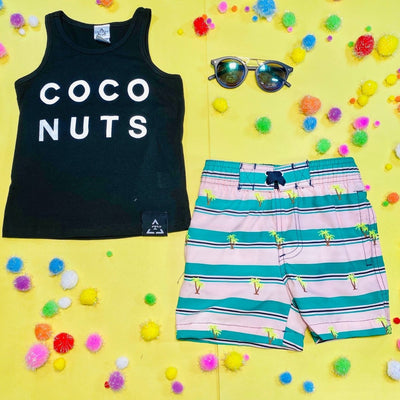 COCO NUTS TANK TOP - TRILOGY DESIGN CO.