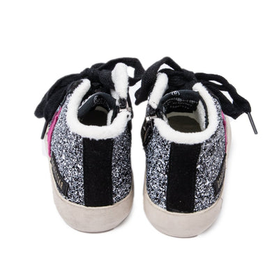GLITTER STAR HIGH TOP SNEAKERS MINI DREAMERS EXCLUSIVE - MINI DREAMERS