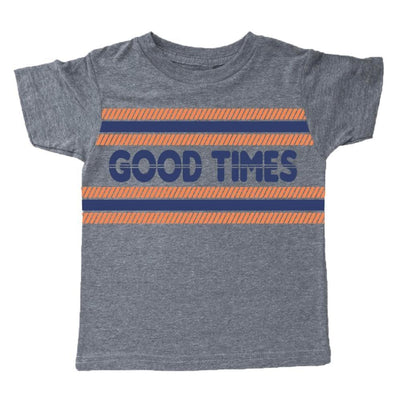 GOOD TIMES CLUB TSHIRT - TINY WHALES