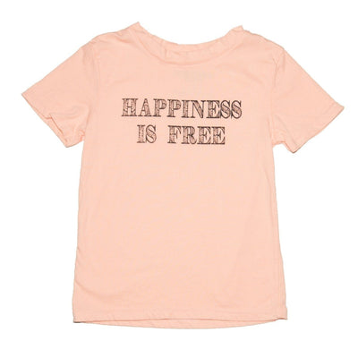 HAPPINESS IS FREE TSHIRT - BROKEDOWN