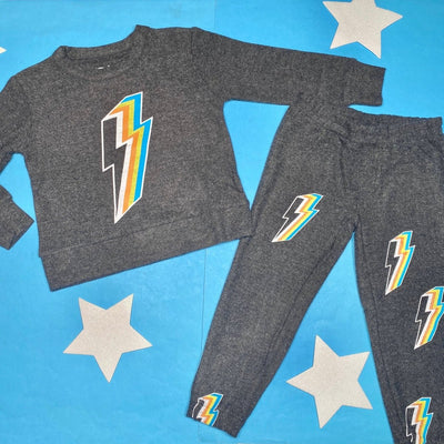 LIGHTNING BOLT SOFT & COZY SWEATSHIRT - CHASER