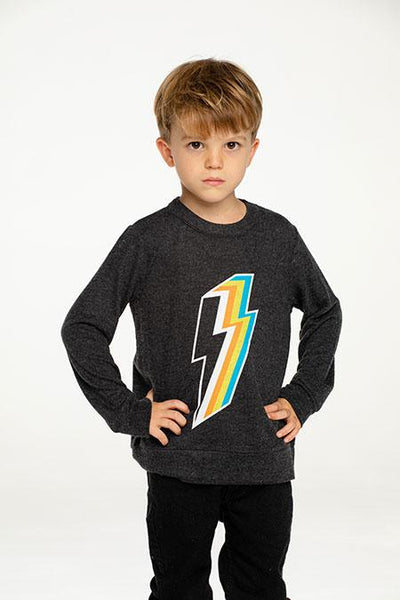 LIGHTNING BOLT SOFT & COZY SWEATSHIRT (PREORDER) - CHASER