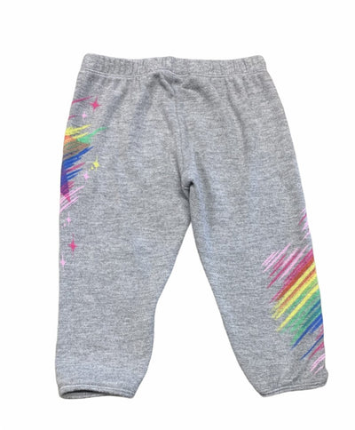 NEON BEAUTY STAR SWEATPANTS MINI DREAMERS EXCLUSIVE - LAUREN MOSHI