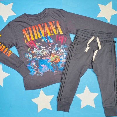 NIRVANA LONG SLEEVE TOP - ROWDY SPROUT