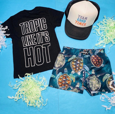 TROPIC LIKE ITS HOT TSHIRT - TRILOGY DESIGN CO.