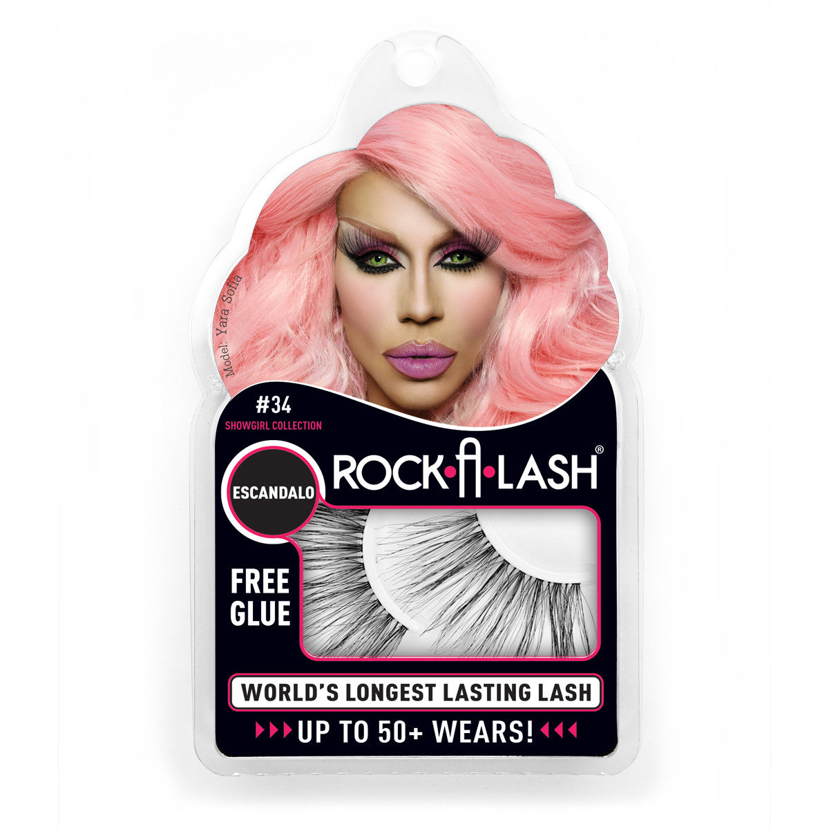 Rock-A-Lash ® <br> #34 - Escandalo- ShowGirl