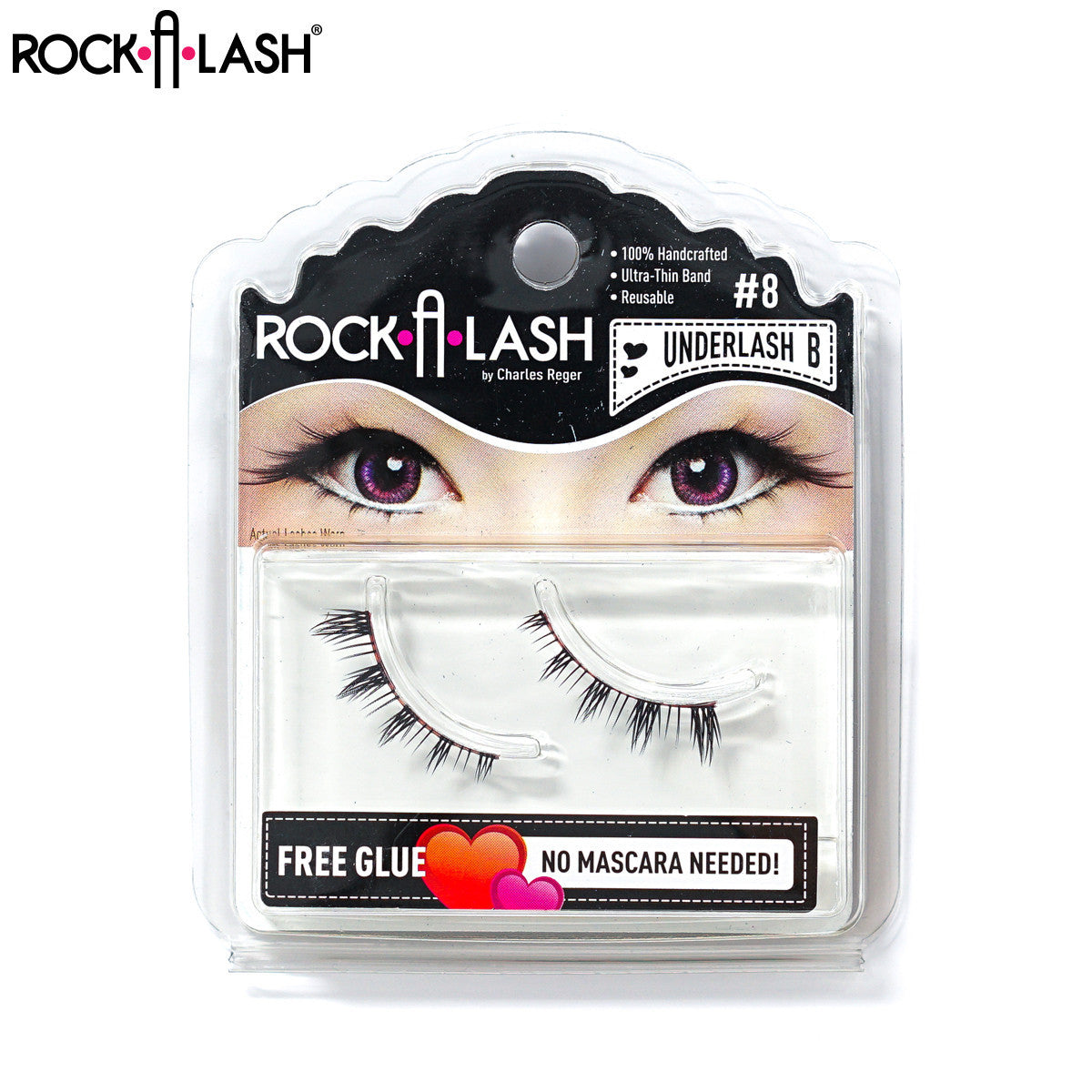Rock-A-Lash ® <br> #08 - Underlash B™ - 1 Pair