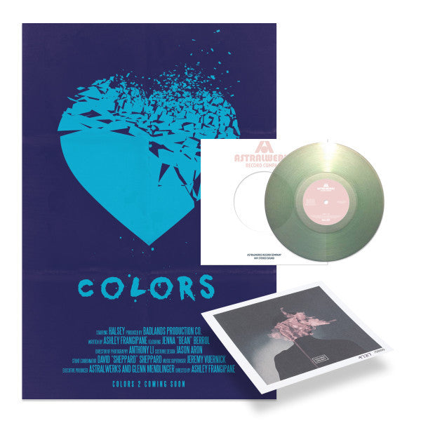 "Colors 7"" LP + Mini Litho"