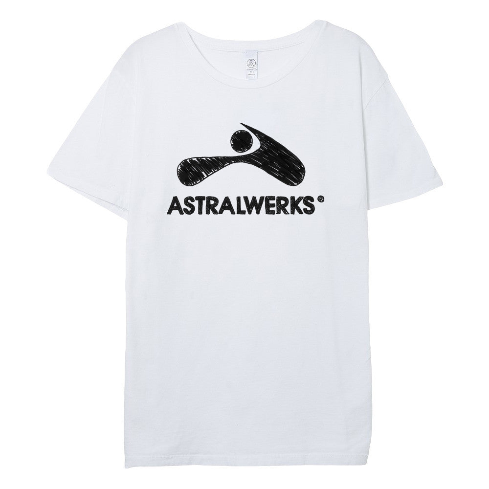 Astralwerks Drawn Logo T-Shirt