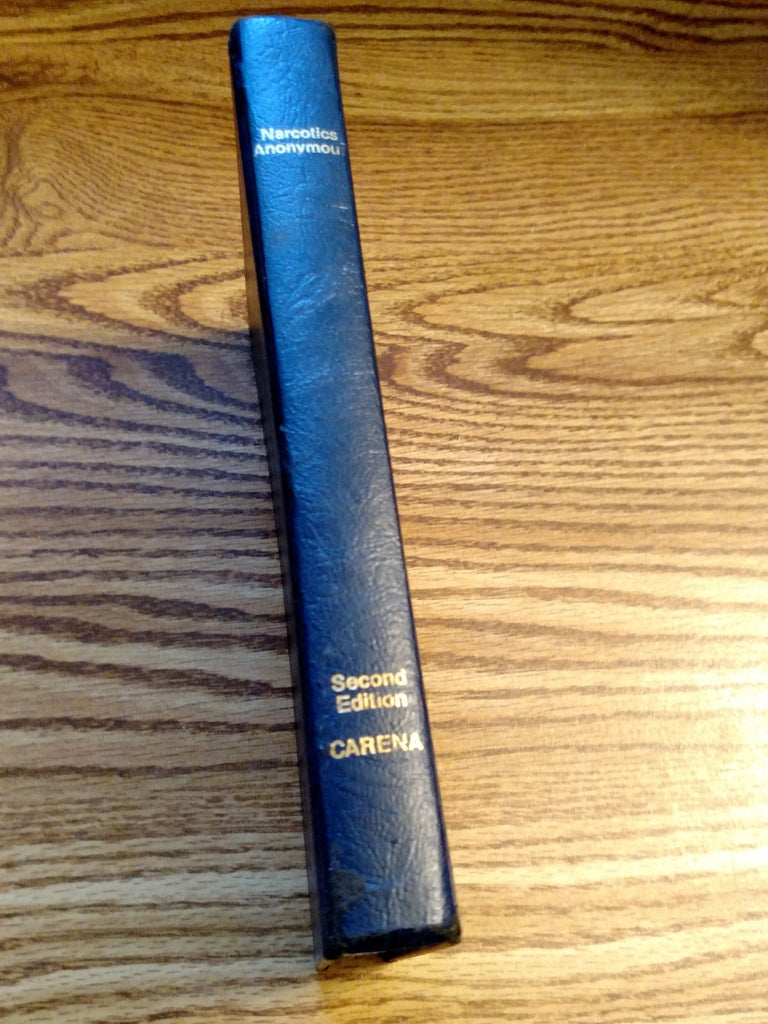 2nd Edition Narcotics Anonymous Basic Text 1982 - Clean