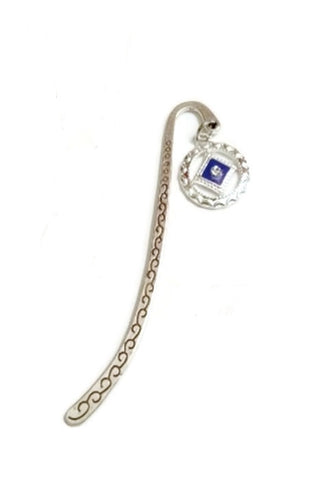 Blue Enamel & Crystal Narcotics Anonymous Bookmark