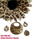 Bronze Serenity Prayer Pendant
