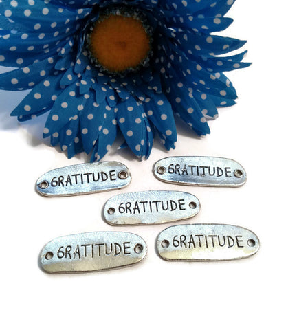 Gratitude Connector Charms
