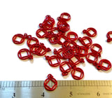 Red NA Cutout Pendant Charms - Narcotics Anonymous - 50 Pcs