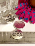 Unity Service Strength Pendant Charms 5 pc