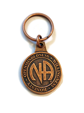 Copper Color Metal Key Chain From Canada - NA