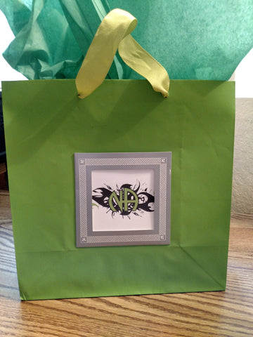 Green Tribal NA Gift Bag
