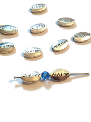 ODAAT One Day At A Time Slide Beads
