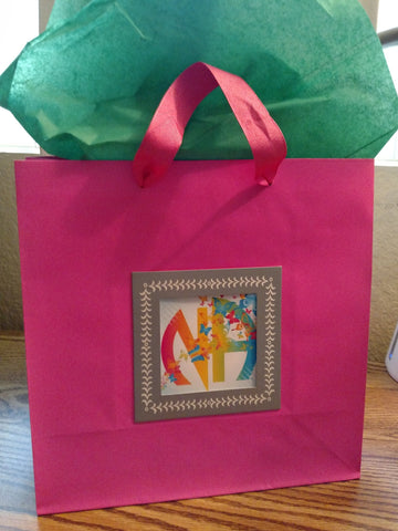 NA Butterfly Gift Bag