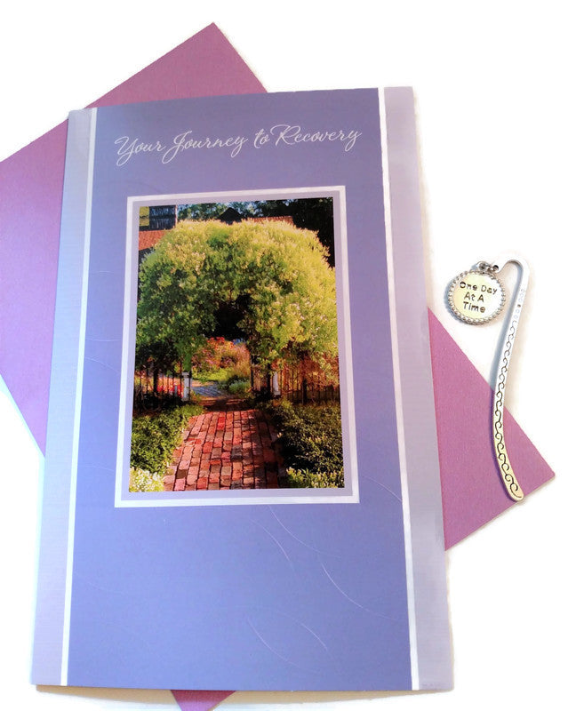 Your Journey To Recovery Card & Bookmark Set