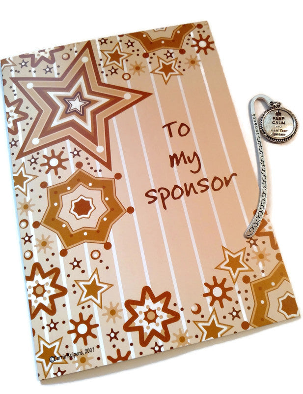 Sponsor Thank You Card & Bookmark Set