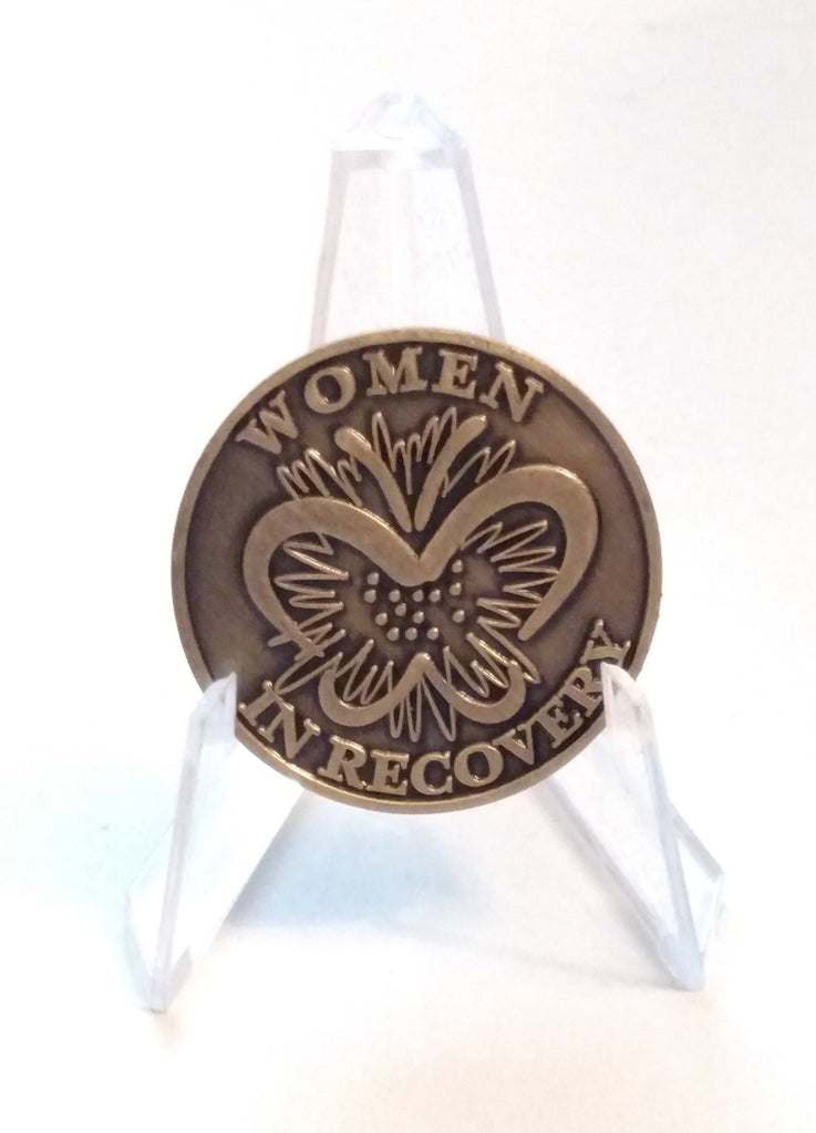 Women In Recovery Butterfly Medallion