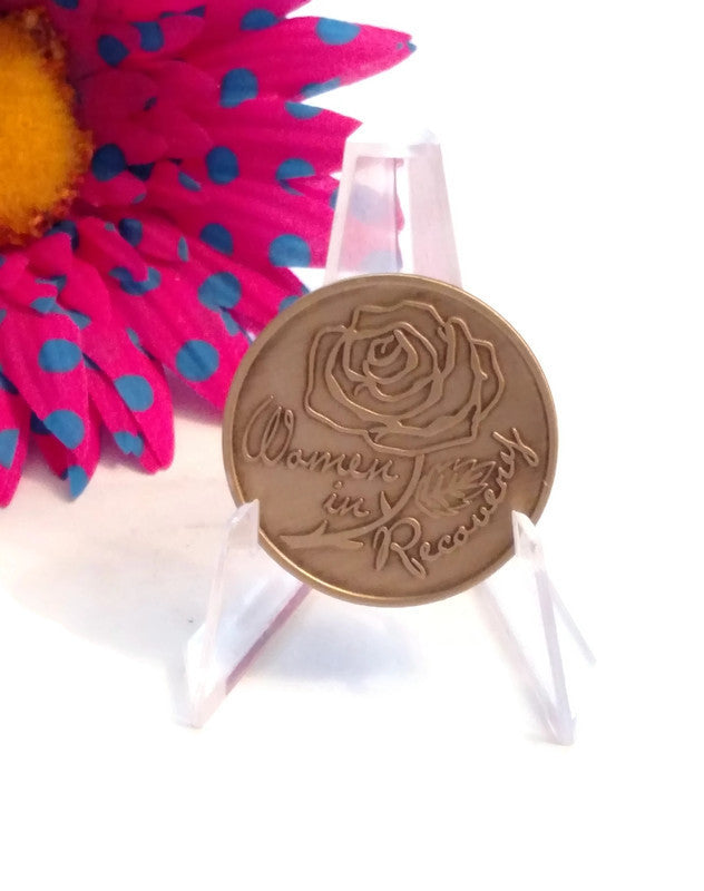 Women In Recovery Rose Medallion