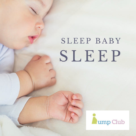 Bump Club Blog sleep baby sleep