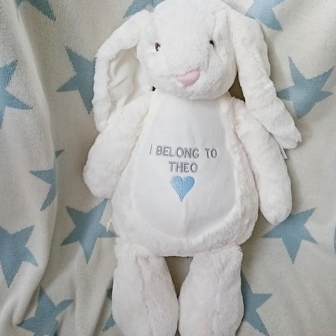 Alternative easter gifts the simply small company we also have smaller knitted bunnies which are also super cute and come in pink grey or blue and for babies our tiny bunny booties are just cuuuuuuuute negle Choice Image