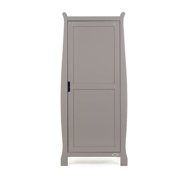 10% OFF RRP OBaby Stamford Single Wardrobe AVAILABLE IN WHITE OR GREY