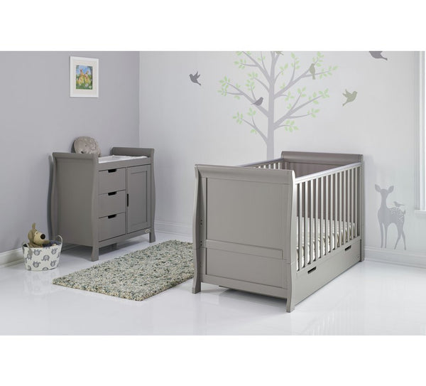 Stamford Grey Two Piece Nursery Furniture Set - The Simply Small Company